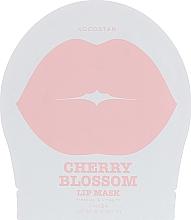 Düfte, Parfümerie und Kosmetik Hydrogel Lippenpatches mit Kirschblütenextrakt - Kocostar Cherry Blossom Lip Mask