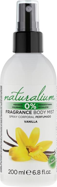 Parfümiertes Körperspray mit Vanilleduft - Naturalium Vainilla Body Mist