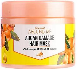 Düfte, Parfümerie und Kosmetik Regenerierende Haarmaske mit Arganöl - Welcos Around Me Argan Damage Hair Mask