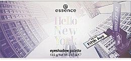 Düfte, Parfümerie und Kosmetik Lidschatten-Palette - Essence Hello New York Eyeshadow Palette