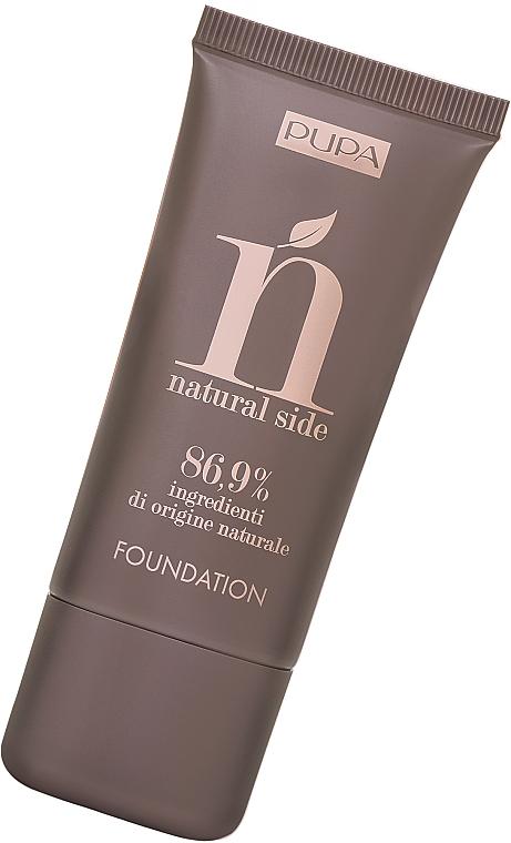 Foundation mit natürlichen Inhaltsstoffen - Pupa Natural Side Foundation