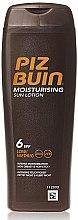 Düfte, Parfümerie und Kosmetik Feuchtigkeitsspendende Körperlotion SPF6 - Piz Buin Moisturising Sun Lotion SPF6
