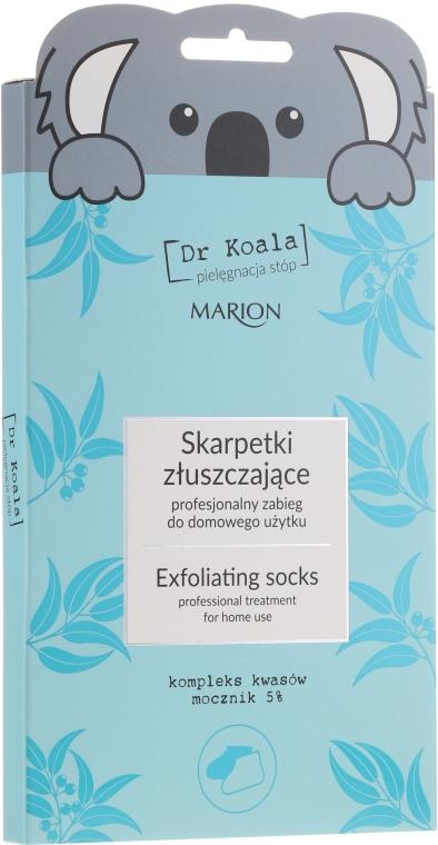 Peeling-Fußmaske in Socken - Marion Dr Koala Exfoliating Socks