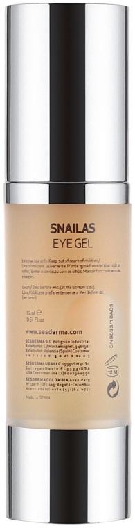 Augenkonturcreme - SesDerma Laboratories Snailas Gel Eye Contour — Bild N3