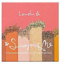 Düfte, Parfümerie und Kosmetik Lidschattenpalette - Lovely Surprise Me Eyeshadow Palette Peachy Sight Edition