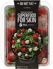 Düfte, Parfümerie und Kosmetik Gesichtspflegeset - Superfood For Skin (Gesichtsmaske 7x25 ml)