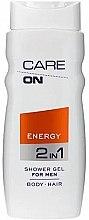 Düfte, Parfümerie und Kosmetik 2in1 Energetisierendes Duschgel für Körper und Haar - Care On Energy Gel Shower