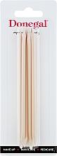 Düfte, Parfümerie und Kosmetik Holzige Manikürestäbchen 12 cm 4 St. 9208 - Donegal