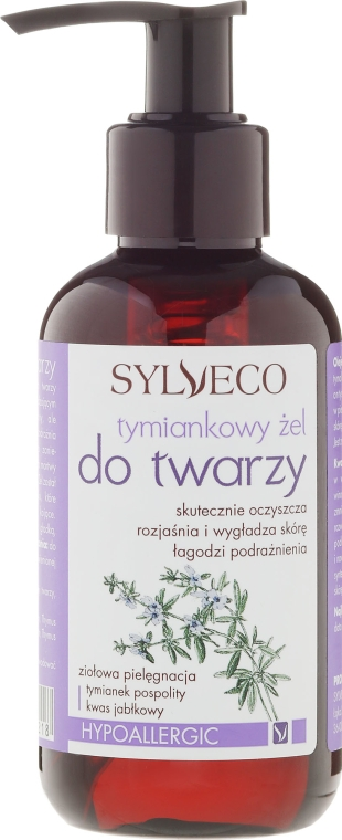 Gesichtswaschgel mit Thymian - Sylveco