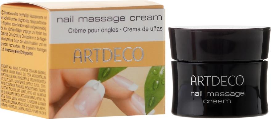Massagecreme für Nägel und spröde, rissige und trockene Nagelhaut - Artdeco Nail Massage Cream — Bild N1
