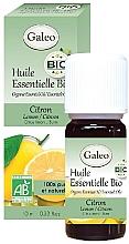 Düfte, Parfümerie und Kosmetik Organisches ätherisches Öl mit Zitrone - Galeo Organic Essential Oil Lemon