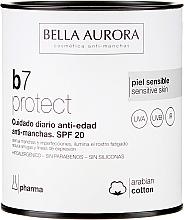 Düfte, Parfümerie und Kosmetik Anti-Aging Gesichtscreme gegen dunkle Flecken SPF 20 - Bella Aurora B7 Cream Clarifying Blush