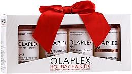 Düfte, Parfümerie und Kosmetik Haarpflegeset - Olaplex Holiday Hair Fix (Conditioner für alle Haartypen 100ml + Shampoo 100ml + Haarcreme 100ml + Haarelixier 100ml)