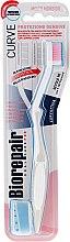 Düfte, Parfümerie und Kosmetik Zahnbürste weich hellgrau - Biorepair Oral Care Pro