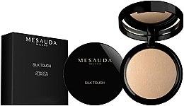 Düfte, Parfümerie und Kosmetik Gebackener Gesichtspuder - Mesauda Milano Silk Touch Powder