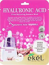 Düfte, Parfümerie und Kosmetik Tuchmaske für das Gesicht mit Hyaluronsäure - Ekel Hyaluronic Acid Ultra Hydrating Essence Mask