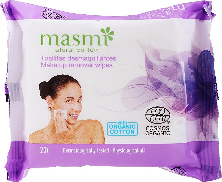 Make-up-Entferner-Tücher - Masmi Natural Cotton