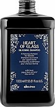 Düfte, Parfümerie und Kosmetik Shampoo für blondierte Haare - Davines Heart Of Glass Silkening Shampoo