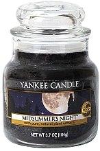 Düfte, Parfümerie und Kosmetik Duftkerze im Glas Midsummer's Night - Yankee Candle Midsummer's Night