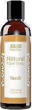 Düfte, Parfümerie und Kosmetik Natürlichhes feuchtigkeitsspendendes und aufhellendes Gesichtstonikum mit Neroli - Avebio Natural Face Tonic Neroli