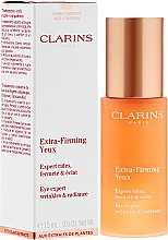 Düfte, Parfümerie und Kosmetik Aufhellendes Anti-Falten Augenserum - Clarins Extra-Firming Yeux