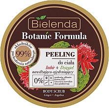 Düfte, Parfümerie und Kosmetik Körperpeeling mit Ingwerwurzel-Extrakt und Engelwurz - Bielenda Botanic Formula Ginger + Angelica Body Scrub