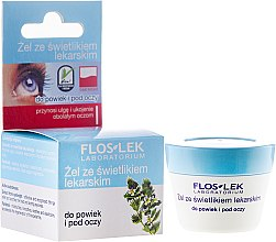 Düfte, Parfümerie und Kosmetik Augengel - Floslek Lid And Under Eye Gel With Eyebright
