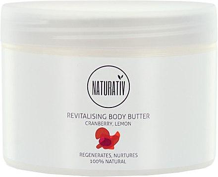 Revitalisierende Körperbutter mit Zitronen- und Cranberryextrakt - Naturativ Revitalizing Body Butter — Bild N2