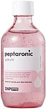 Düfte, Parfümerie und Kosmetik Feuchtigkeitsspendendes, regenerierendes Gesichtsserum mit Peptiden und Hyaluronsäure für alle Hauttypen - SNP Prep Peptaronic Serum