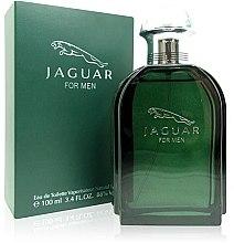 Düfte, Parfümerie und Kosmetik Jaguar Green - Eau de Toilette (Tester mit Deckel)