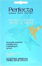 Düfte, Parfümerie und Kosmetik Gesichts-, Hals- und Dekolletémaske - Perfecta Bird's Nest Face Mask (Probe)