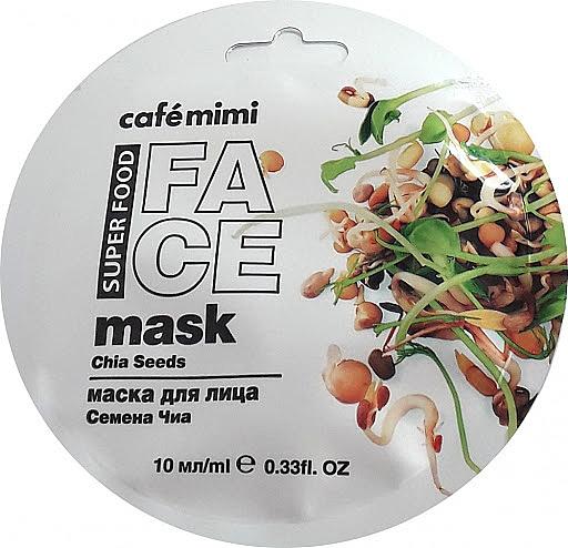 Gesichtsmaske mit Chiasamen und Olivenöl - Cafe Mimi Face Mask