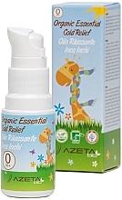 Düfte, Parfümerie und Kosmetik Bio-Öl gegen Erkältungen mit Mandel und Inca-Inchi - Azeta Bio Organic Essential Cold Relief