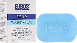 Düfte, Parfümerie und Kosmetik Hand- und Körperseife für fettige und Mischhaut - Eubos Med Basic Skin Care Solid Washing Bar