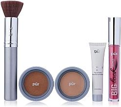 Düfte, Parfümerie und Kosmetik Make-up Set - Pur Minerals Best Sellers Starter Kit Golden Medium (Gesichtsprimer 10ml + Foundation 4.3g + Bronzier Puder 3.4g + Mascara 5g + Make-up Pinsel)