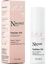 Düfte, Parfümerie und Kosmetik Lifting-Serum für das Gesicht mit Peptiden - Nacomi Next Level Lift It Up Peptides 10%