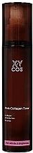 Düfte, Parfümerie und Kosmetik Aufhellender Anti-Falten Gesichtstoner mit Kollagen, Wildbeeren und Hagebutte - XYcos Pink Collagen Toner