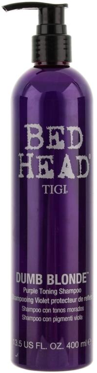 Shampoo - Tigi Dumb Blonde Purple Toning Shampoo — Bild N1