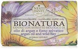 "Düfte, Parfümerie und Kosmetik Seife ""Arganöl und Heu"" - Nesti Dante Bio Natura Argan Oil & Wild Hay Soap"