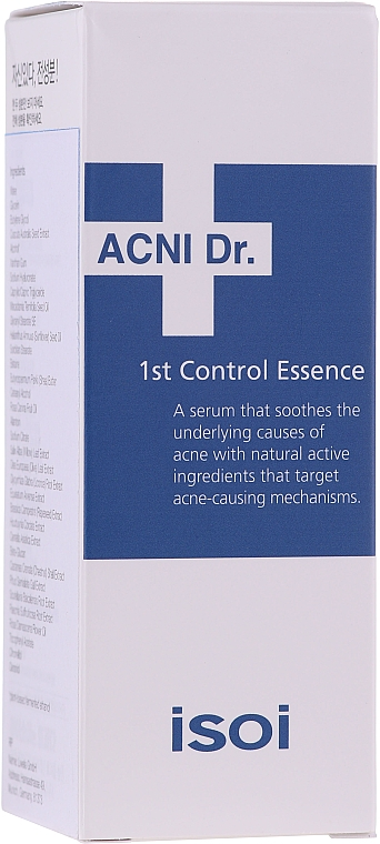 Seboregulierendes Gesichtsessenz-Serum für Problemhaut - Isoi Acni Dr. 1st Oil Control Clearing Essence — Bild N2