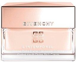 Düfte, Parfümerie und Kosmetik Gesichtscreme - Givenchy L`Intemporel Global Youth Divine Rich Cream