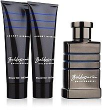 Düfte, Parfümerie und Kosmetik Baldessarini Secret Mission - Duftset (Eau de Toilette 50ml + Duschgel 50ml + Duschgel 50ml)