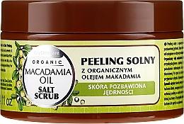 Düfte, Parfümerie und Kosmetik Salzpeeling für den Körper mit Bio Macadamiaöl - GlySkinCare Macadamia Oil Salt Scrub