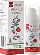 Düfte, Parfümerie und Kosmetik Fuß- und Fersencreme mit Moosbeerextrakt - GoCranberry Cosmetics Foot and Heel Cream