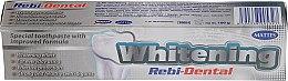 Düfte, Parfümerie und Kosmetik Aufhellende Zahnpasta - Mattes Rebi-Dental Whitening Toothpaste