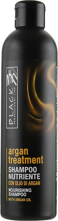 Nährendes Shampoo mit Arganöl - Black Professional Line Argan Treatment Shampoo