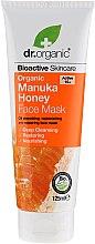 Düfte, Parfümerie und Kosmetik Gesichtsmaske mit Manuka-Honig - Dr. Organic Bioactive Skincare Organic Manuka Honey Face Mask