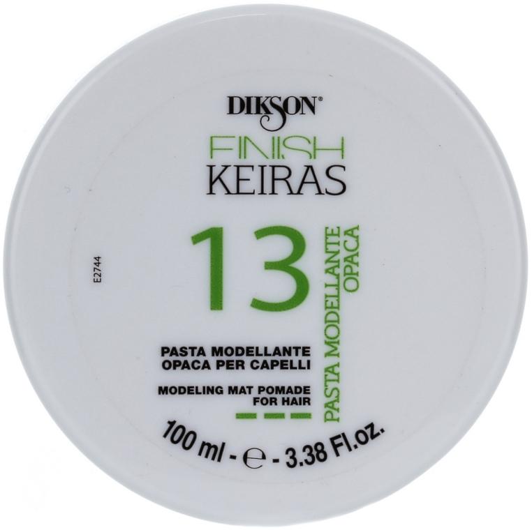 Modellierende Haarpaste mit Matt-Effekt - Dikson Finish Keiras Pasta Modellante Opaca 13
