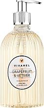 Düfte, Parfümerie und Kosmetik Vivian Gray Vivanel Grapefruit & Vetiver - Flüssige Cremeseife Grapefruit & Vetiver