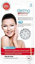 Düfte, Parfümerie und Kosmetik Gesichtsmaske - Dermo Pharma 4D Wrinkle & Dark Circle Reducer Gel Patches